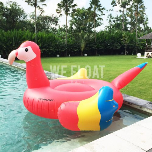 Red-Parrot-Float-3-WeFloatBali