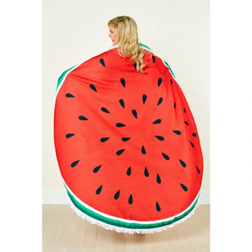 Watermelon-Round-Beach-Towel-reference2-WeFloatBali